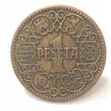 Monedas Franco: EXCELENTE MONEDA DE 1 PESETA DE 1944. EBC.. Lote 268842384