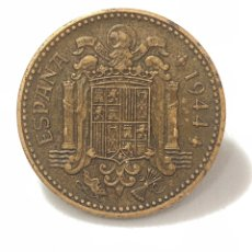 Monedas Franco: EXCEPCIONAL MONEDA DE 1 PESETA DE 1944 CON PLUS ULTRA EXCELENTEMENTE CONSERVADO.. Lote 268858019