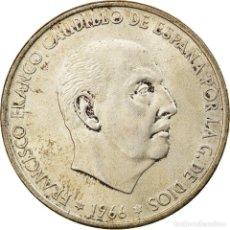 Monedas Franco: [#857467] MONEDA, ESPAÑA, CAUDILLO AND REGENT, 100 PESETAS, 1966, MBC+, PLATA, KM:797. Lote 269162238