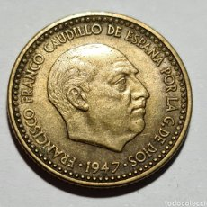 Monedas Franco: 1 PESETA 1947 *54 EBC+. Lote 269162483