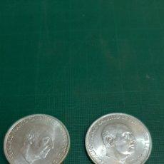 Monedas Franco: 100 PESETAS FRANCISCO FRANCO 1966 *19*69 PALO RECTO Y CURBO SIN CIRCULAR NUMISMÁTICA COLISEVM. Lote 269617208