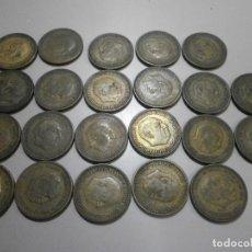Monedas Franco: LOTE DE MONEDAS 2,50 PESETAS DE FRANCO 19-54 19-56 Y OTRAS. Lote 275726398