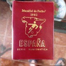 Monedas Franco: CARTERA DE MONEDAS DEL MUNDIAL DE FUTBOL ESPAÑA 82. Lote 276699098
