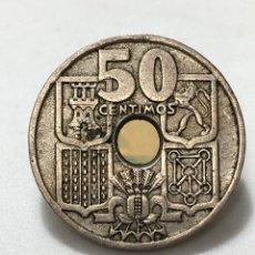 Monedas Franco: FLECHAS INVERTIDAS. 50 CÉNTIMOS DE 1949 ESTRELLA 51.. Lote 277248373