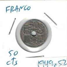 Monedas Franco: MONEDAS - GENERAL FRANCO - 50 CENTIMOS 1949 *52. Lote 277525698
