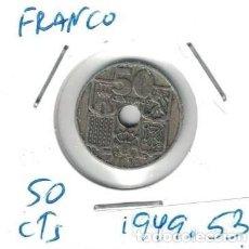 Monedas Franco: MONEDAS - GENERAL FRANCO - 50 CENTIMOS 1949 *53. Lote 277525858