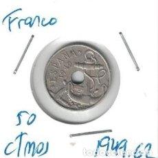 Monedas Franco: MONEDAS - GENERAL FRANCO - 50 CENTIMOS 1949 *62. Lote 277526463