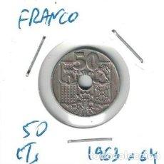 Monedas Franco: MONEDAS - GENERAL FRANCO - 50 CENTIMOS 1953 *64. Lote 277527053