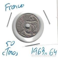 Monedas Franco: MONEDAS - GENERAL FRANCO - 50 CENTIMOS 1953 *64. Lote 277527198