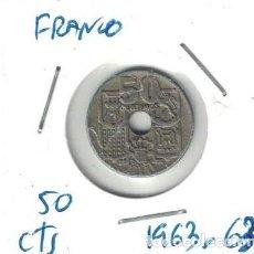 Monedas Franco: MONEDAS - GENERAL FRANCO - 50 CENTIMOS 1953 *63. Lote 277527313
