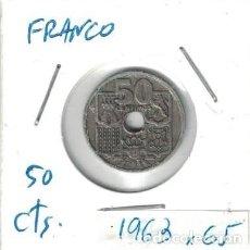 Monedas Franco: MONEDAS - GENERAL FRANCO - 50 CENTIMOS 1953 *65. Lote 277527653