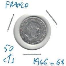 Monedas Franco: MONEDAS - GENERAL FRANCO - 50 CENTIMOS 1966 *68. Lote 277527868