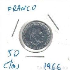 Monedas Franco: MONEDAS - GENERAL FRANCO - 50 CENTIMOS 1966 *72. Lote 277528473