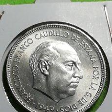 Monedas Franco: ANTIGUA MONEDA DE 5 PESETAS DE 1949 ESTRELLA 49 MUY BIEN CONSERVADA.. Lote 277541448