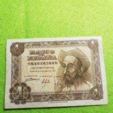 Monedas Franco: UN BILLETE DE UNA PESETA DE 1951 MUY BIEN CONSERVADO... Lote 277542228
