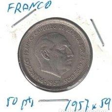 Monedas Franco: MONEDAS - GENERAL FRANCO - 50 PESETAS 1957 *59. Lote 277591773