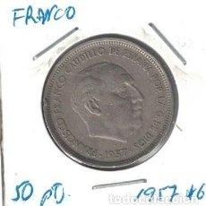 Monedas Franco: MONEDAS - GENERAL FRANCO - 50 PESETAS 1957 *60. Lote 277592153