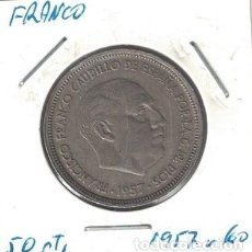 Monedas Franco: MONEDAS - GENERAL FRANCO - 50 PESETAS 1957 *60. Lote 277592218