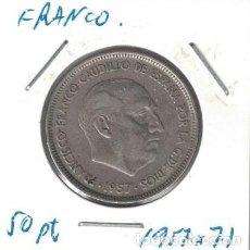 Monedas Franco: MONEDAS - GENERAL FRANCO - 50 PESETAS 1957 *71. Lote 277593003