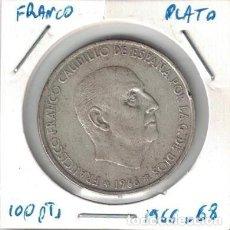 Monedas Franco: MONEDAS - GENERAL FRANCO - 100 PESETAS 1966 *68. Lote 277593393