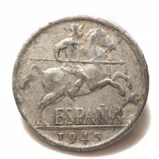 Monedas Franco: MONEDA DE DIEZ CÉNTIMOS DE 1945.. Lote 277595253