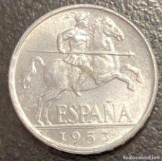 Monedas Franco: ESPAÑA, ESTADO ESPAÑOL, MONEDA DE 10 CÉNTIMOS, AÑO 1953. Lote 278184478