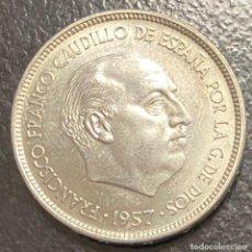 Monedas Franco: ESPAÑA, ESTADO ESPAÑOL, MONEDA DE 25 PESETAS DEL AÑO 1957. Lote 278186483