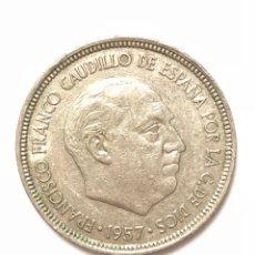 Monedas Franco: 5 PESETAS DE 1957 ESTRELLA DEL 72.. Lote 278552813