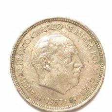 Monedas Franco: 5 PESETAS DE 1957 ESTRELLA DEL 72.. Lote 278553173