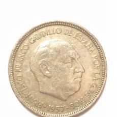 Monedas Franco: 5 PESETAS DE 1957 ESTRELLA DEL 72.. Lote 278553278