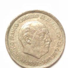 Monedas Franco: 5 PESETAS DE 1957 ESTRELLA DEL 72.. Lote 278553378