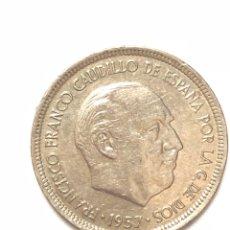 Monedas Franco: 5 PESETAS DE 1957 ESTRELLA DEL 72.. Lote 278553483