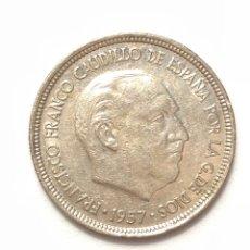 Monedas Franco: 5 PESETAS DE 1957 ESTRELLA DEL 72.. Lote 278553613