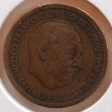 Monedas Franco: 2,50 PESETAS 1953 *54 BC. Lote 278927993