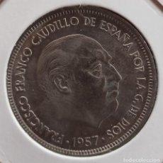 Monedas Franco: 50 PESETAS 1957 * 59 EBC. Lote 278928383