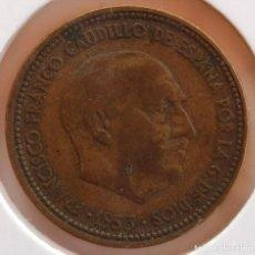 Monedas Franco: 2,50 PESETAS 1953 *54 BC LISTEL DESCENTRADO. Lote 278928633