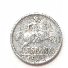 Monedas Franco: 5 CÉNTIMOS DE 1945. ESTADO ESPAÑOL.. Lote 279572283
