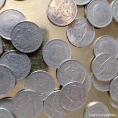 Monedas Franco: LOTE 5 PESETAS DE FRANCO. Lote 282957588