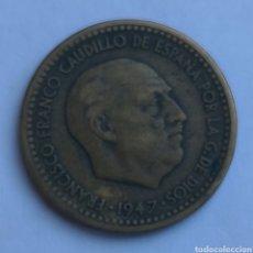 Monedas Franco: MONEDA ESPAÑA FRANCISCO FRANCO 1 PESETA 1947 * 51. Lote 284583923
