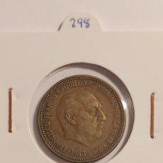 Monedas Franco: * MONEDA 2,5 PESETAS 1953 *56. Lote 285479978