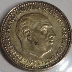 Monedas Franco: 1 PESETA 1953*61. Lote 285616283