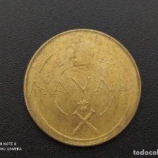 Monedas Franco: PRUEBA NAVAL..1948.. PRUEBAS DE LAS MÁQUINAS DE ACUÑAR...TALLERES SAN CARLOS.....ES LA DE LAS FOTOS. Lote 285653063