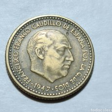 Monedas Franco: 1 PESETA 1947 *52 EBC-. Lote 285697268
