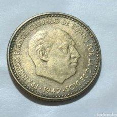 Monedas Franco: DE LAS MAS ESCASAS !!! 1 PESETA 1947 *48 SIN CIRCULAR -. Lote 285761018