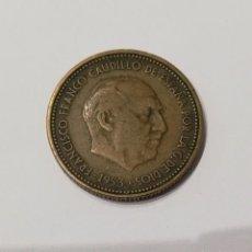 Monedas Franco: MONEDA ESPAÑA 2,50 PTAS. 1953 *54.. Lote 286193443