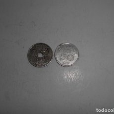 Monedas Franco: MONEDAS DE 50 CENTIMOS. Lote 286423418