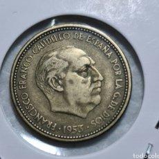 Monedas Franco: 2,50 PESETAS 1953 *54 EBC. Lote 286868908