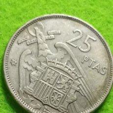 Monedas Franco: 25 PESETAS DE 1957 ESTRELLA 68. Lote 286885008