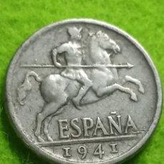 Monedas Franco: 10 CENTIMOS DE 1941. BIEN CONSERVADA. Lote 286885713