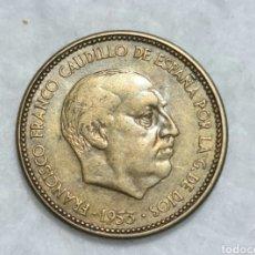 Monedas Franco: 2,50 PESETAS DE 1953 *54. Lote 287580888